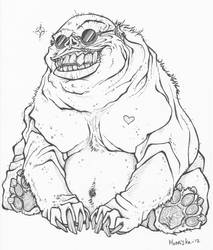 Dude you fugly by monnifisu