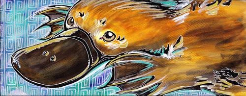 Platypus by monnifisu