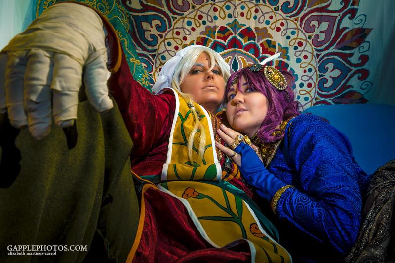 Prince Soma and Agni by Ailish01