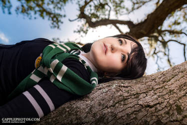 Harry Potter - Slytherin Student by Ailish01
