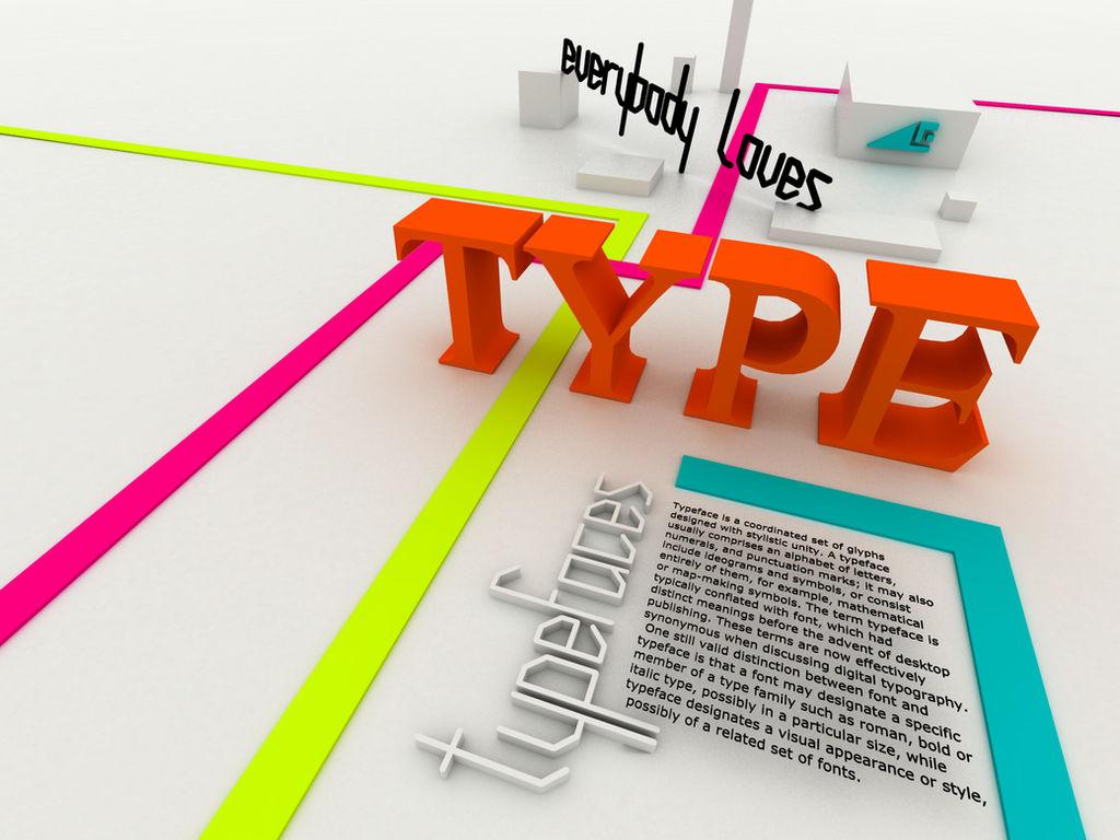 everybody loves type