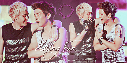 KhunHo 'Having Fun' by KissOfDeathXxX