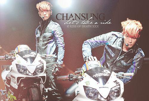 Chansung 'Let's take a ride'