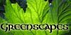 Greenscapes Glowing Leaf by aelthwyn