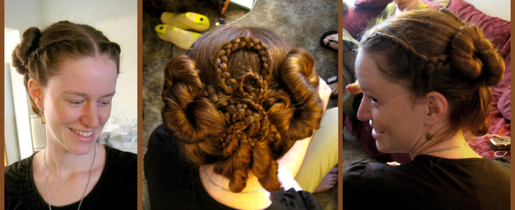 Crazy Twisty Hair Design by aelthwyn
