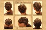 Braided Net Hairdo