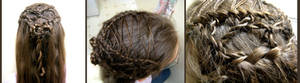 Lace Up Hair Design