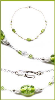 Spring Green Necklace