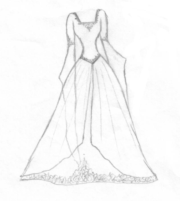 Wedding Dress Design By Aelthwyn On DeviantArt