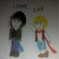 Chibi Liam and Zak by CloudyRose06