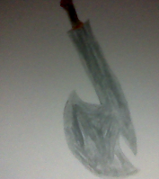 Liam's Axeblade by CloudyRose06