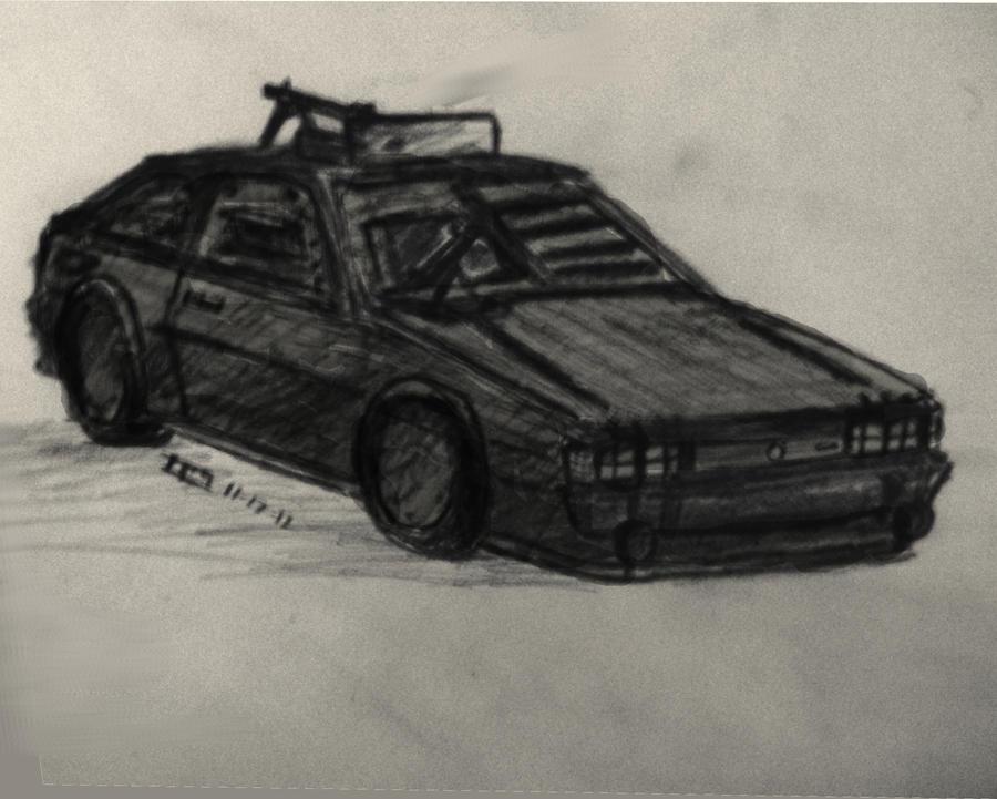 Volkswagen Scirocco: Road Warrior Edition by daStig177