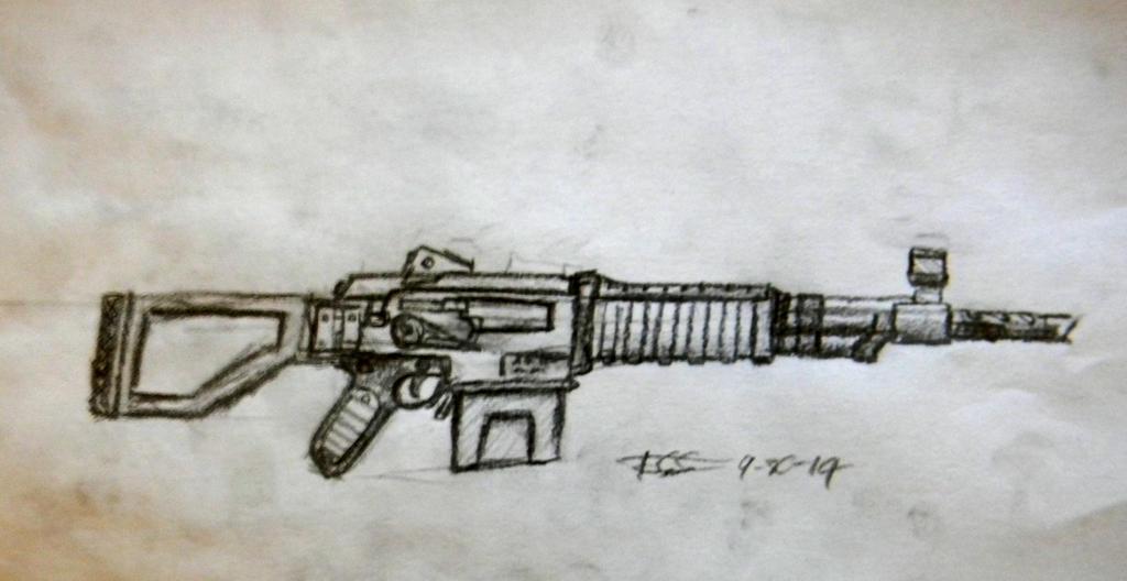 Fallout AK112 by daStig177