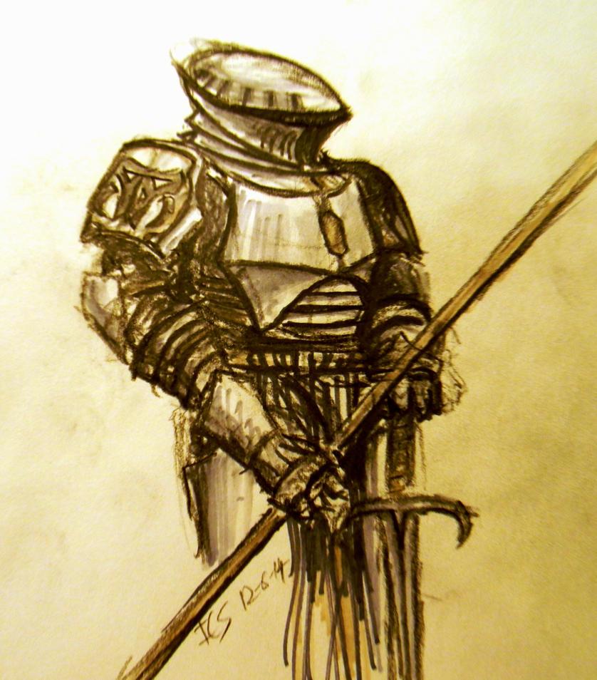 Medieval Beskar'gam by daStig177