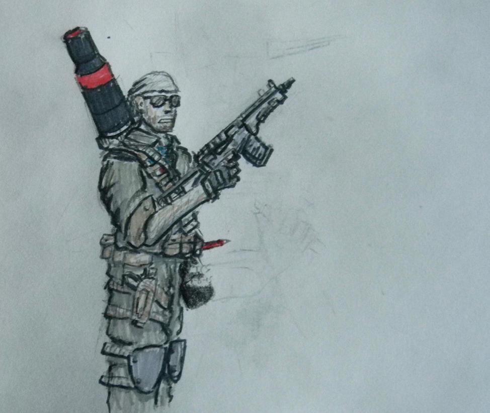 Je Suis Charlie - Art Commando by daStig177