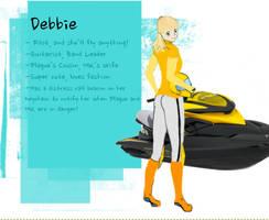Debbie WIP PART 2 by IdanCarre