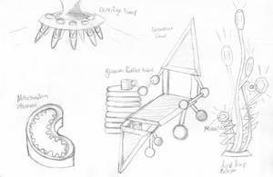Biology Inspired Furniture Designs by IdanCarre