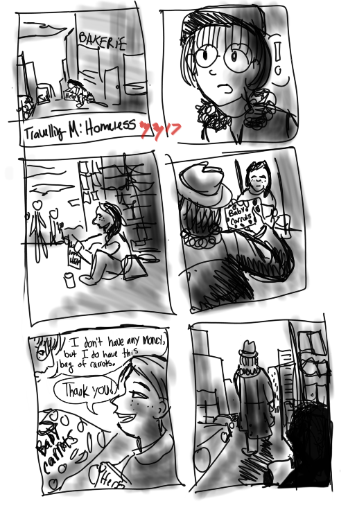 Homeless encounter by IdanCarre