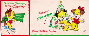 1952 Wife to Husband Christmas Card