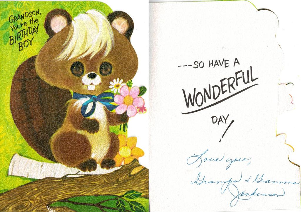 Grandson Card Birthday by IdanCarre