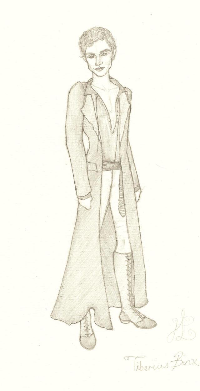 Tiberius Binx (OC) by Lady-Katsa