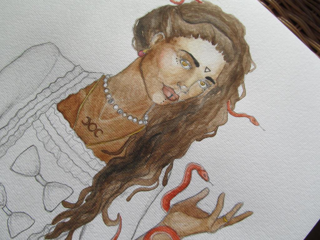 Medusa W.I.P. by Lady-Katsa