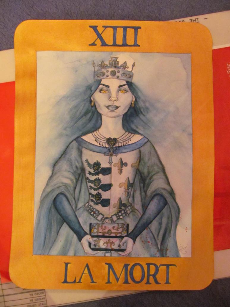 She-Wolf Tarot card design by Lady-Katsa