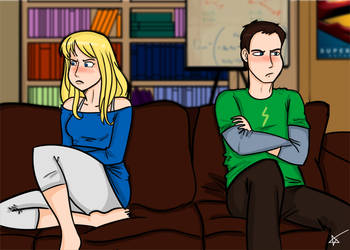 Penny and Sheldon by starlinehodge