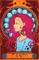 Mucha Candi Poster by starlinehodge