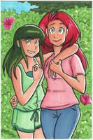 Katia and Candi by starlinehodge