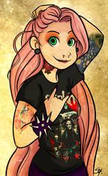 Ra(punk)zel by starlinehodge