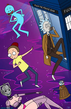 Rick and Morty - Doctor Who Parody