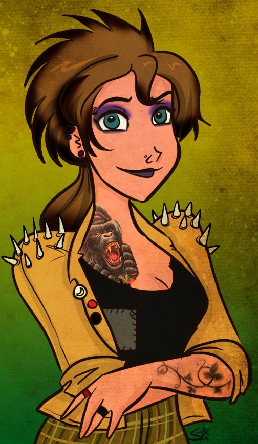 Punk Jane by starlinehodge