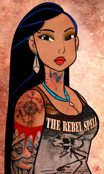 Punk Metal Pocahontas