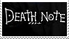 Deathnote Stamp by Arcer26