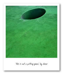 this is not a putting green