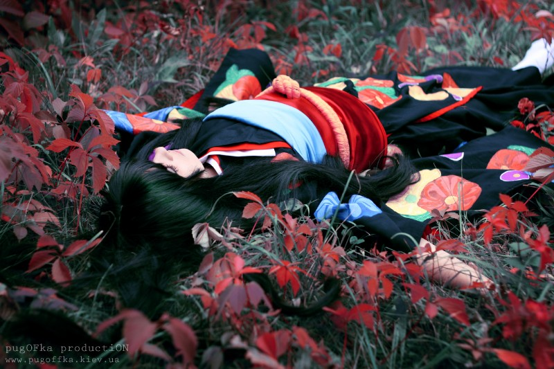 Dream in a red leaves ... by Alexia-coswave
