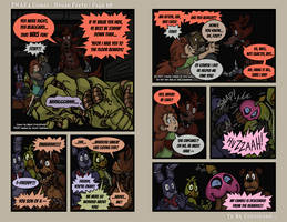 FNAF4 Comic - House Party - Page 58 - 3-9-17 by Mattartist25
