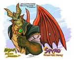 Spyro Reignited Fanart - Nestor - 1-29-19
