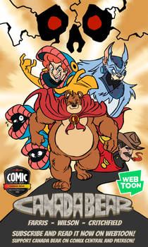 Canada Bear - Promotional Art 01 - 2-12-19