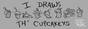 FNAF - I Draws Th Cupcakeys - 5-11-2020