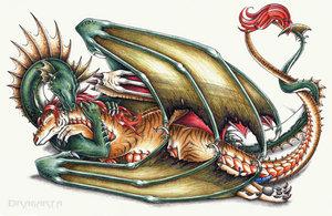 Phasi and Nidae by elite-dragons