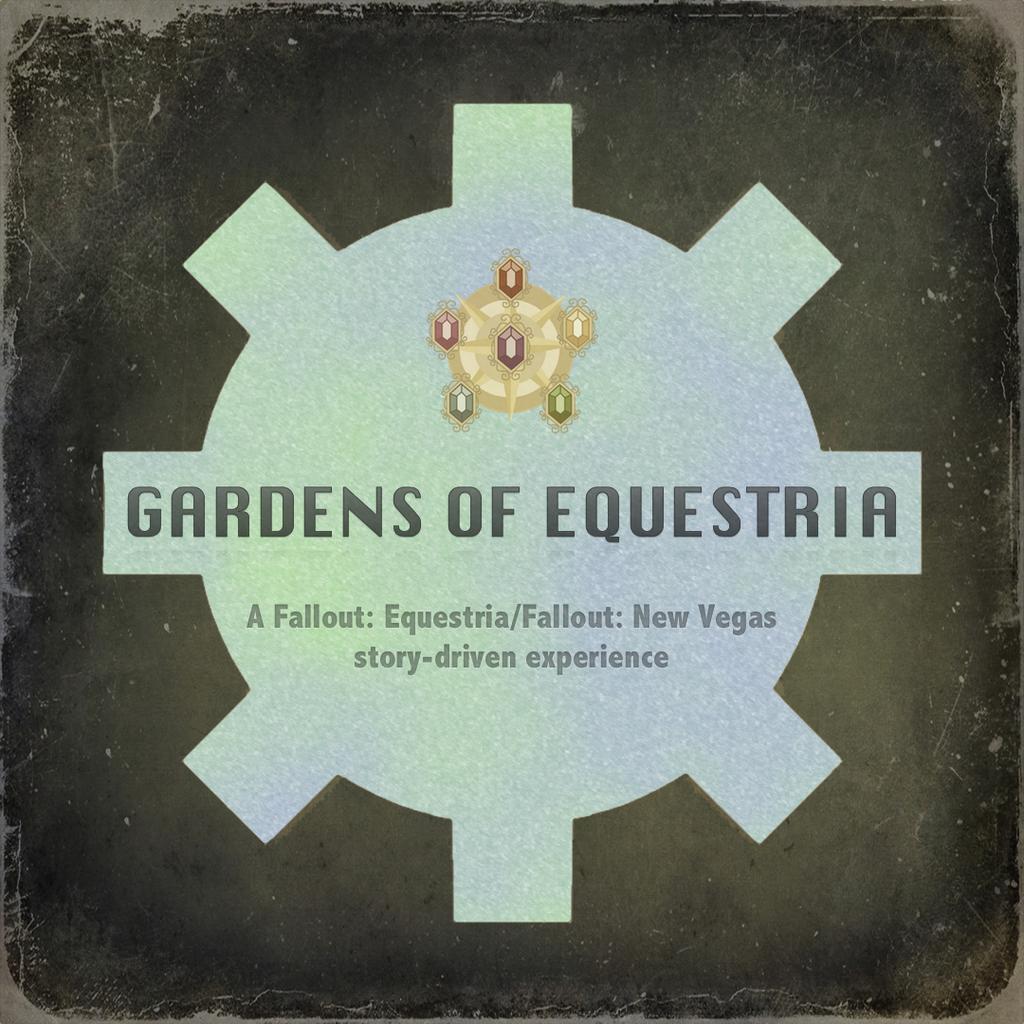 Gardens of Equestria Logo V1 by MLP-NovelIdea