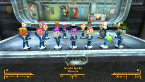 GoE WIP Screenshot: Statuette Table