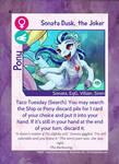 TSSSF Pony Card - Sonata Dusk, the Joker 1.0.6