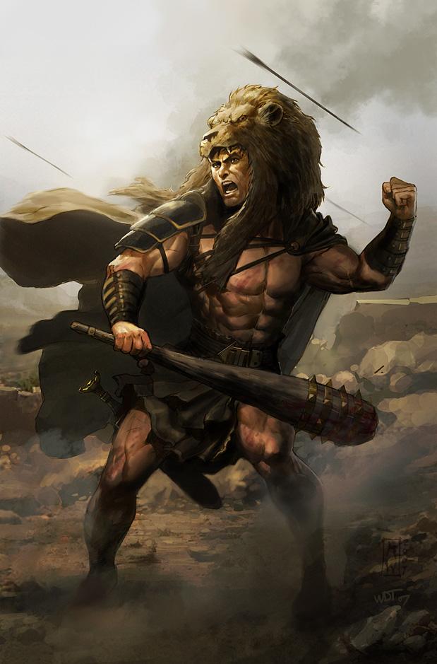 Hercules by wraithdt on DeviantArt