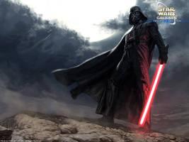Darth Vader by wraithdt