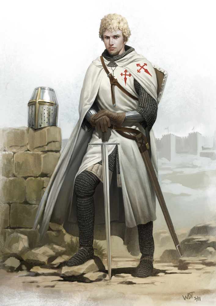 Estevao, Knight of Santiago by wraithdt