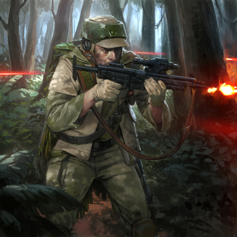 Renegade Squad Soldier by wraithdt