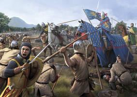 Battle of Halmyros by wraithdt